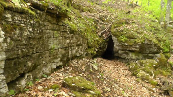 Пещера Флейта, река Аминовка
