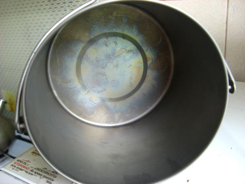 Котелок титановый TOAKS Titanium 1300ml, окисление