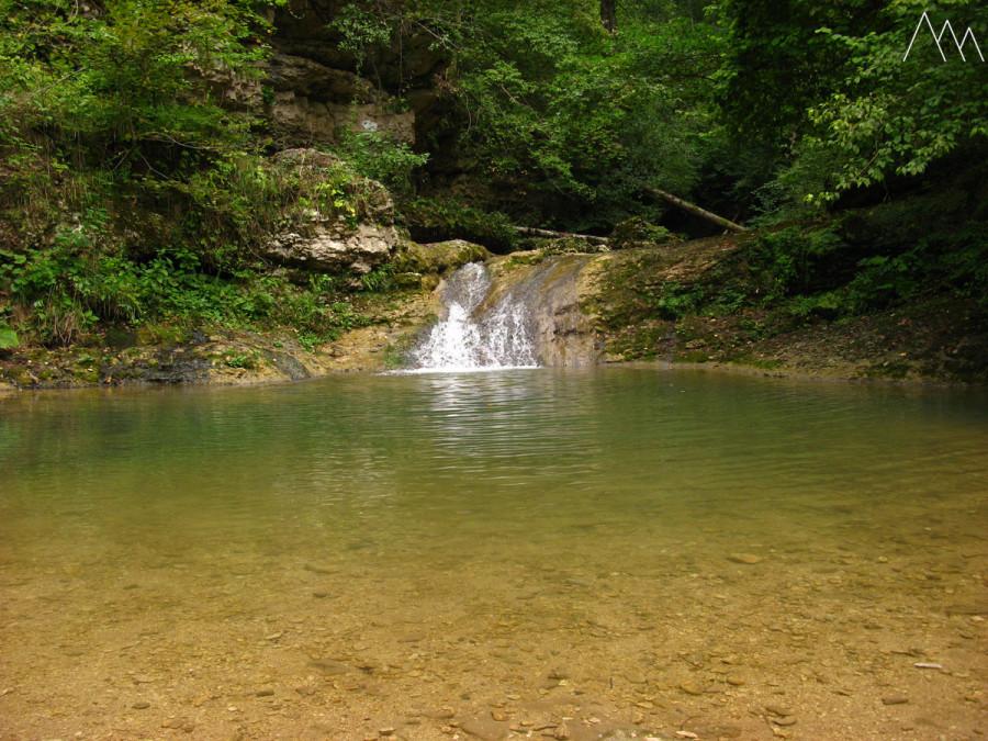 Водопад на реке Мешоко