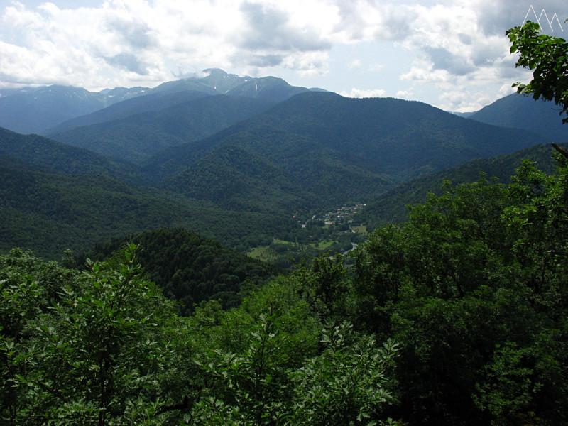 Поселок Гузерипль, гора Казачья