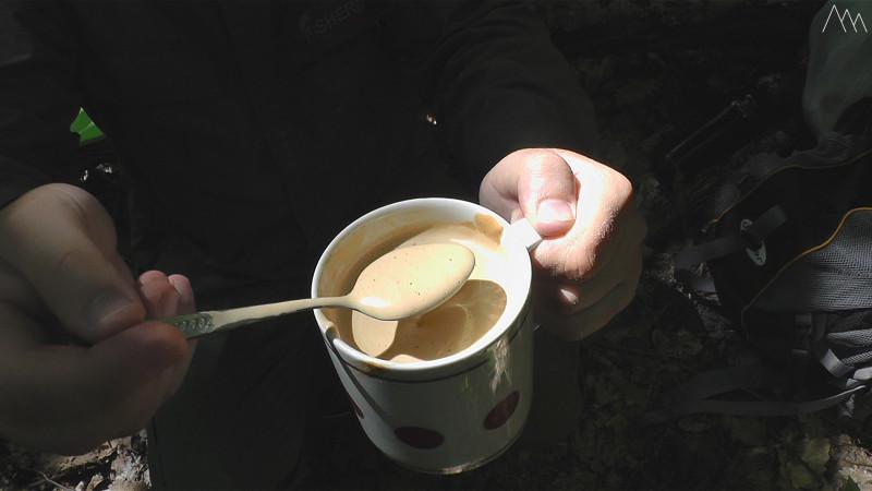 Кофе с сухим молоком