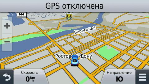 Garmin Nuvi 2589LMT - карта