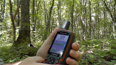 Уровень яркости навигатора Garmin GPSMAP 62s