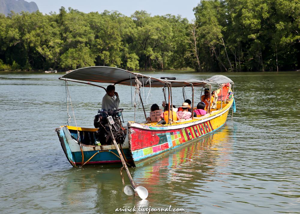 лодка в тайланде - фото 7
