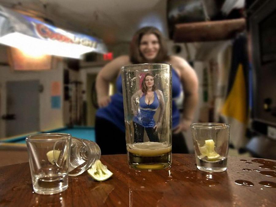 пьют водку голыми фото