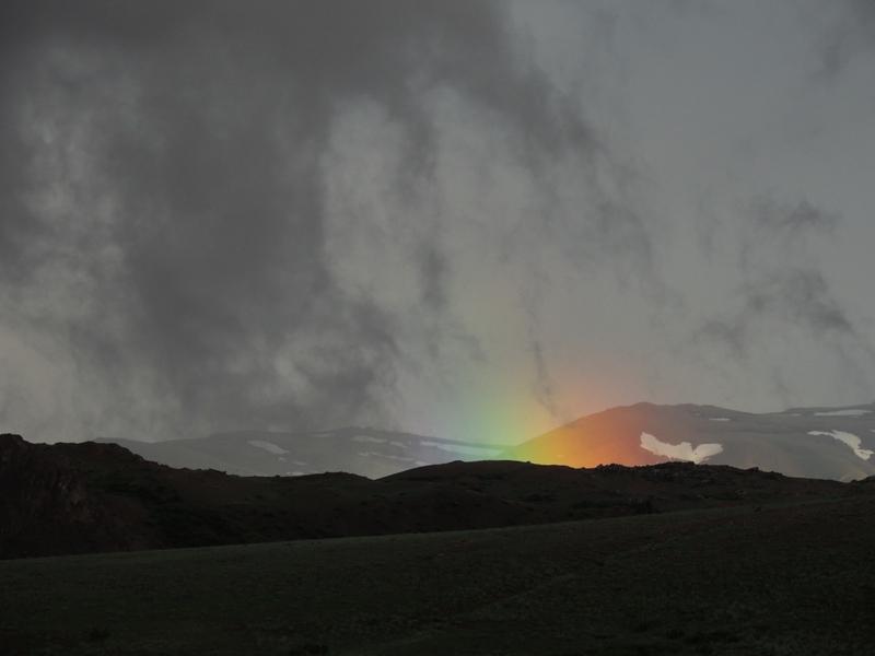 Необыкновенная радуга