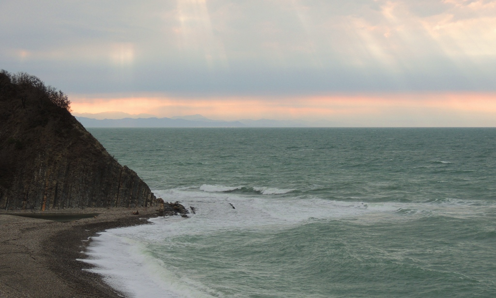 Чёрное море в марте
