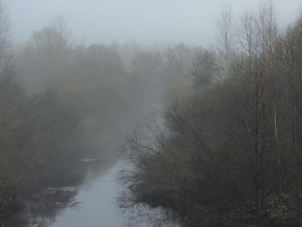 апрельский туман