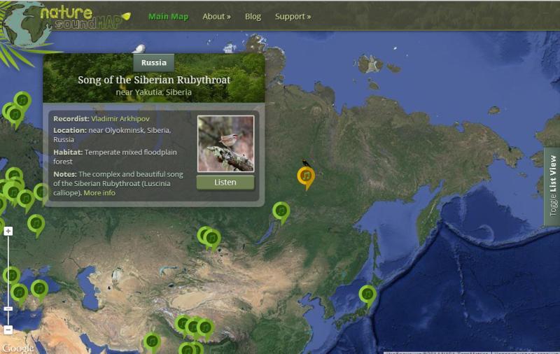 Naturesoundmap
