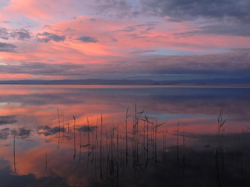 Закат на Ачит-Нуре