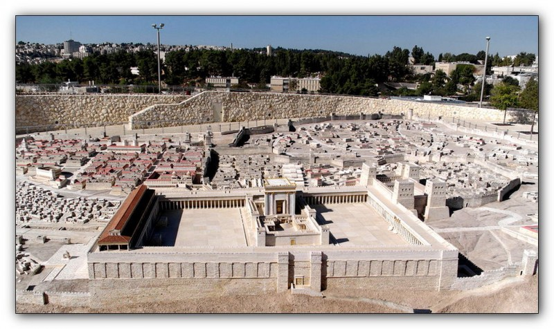 Модель Иерусалимского Храма (Википедия)
