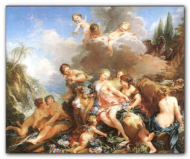 F.Boucher. The Rape of Europa