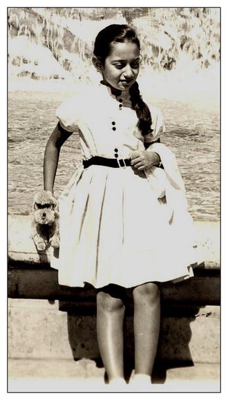 Заха Хадид, ~ 8 лет