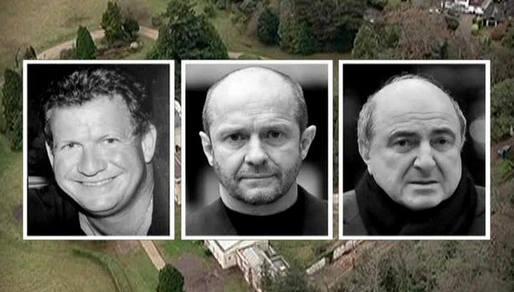 слева на право: Стивен Куртис, Скотт Янг и Борис Березовский