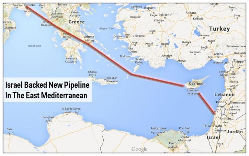 Проект газопровода в Европу