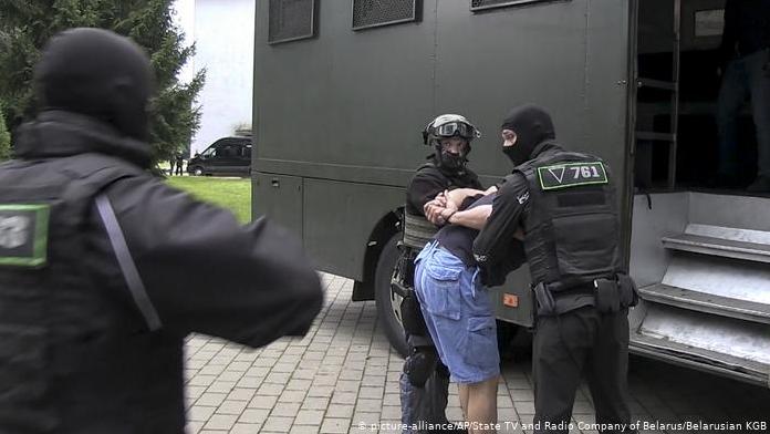 """Задержание """"вагнеровцев"""" в Беларуси, 29 июля 2020 года"""