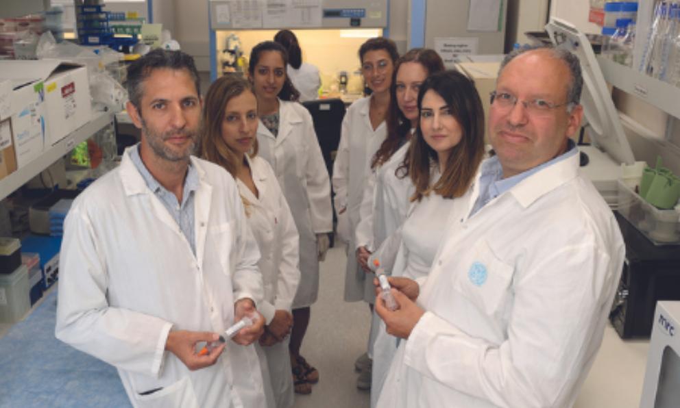 Группа Bonus BioGroup. Слева — д-р Дрор Бен-Давид