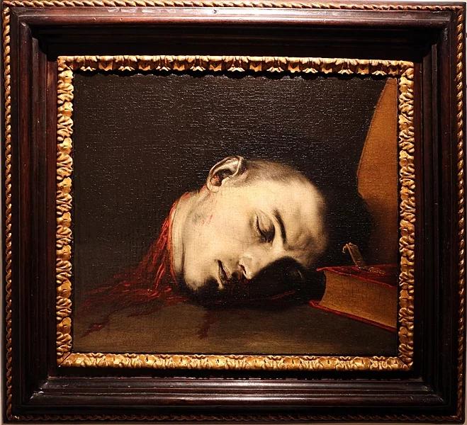 """Х. Рибера. """"Голова св. Януария"""". 17 век"""