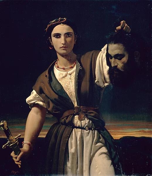 Ж.К, Зиглер. Юдифь с головой Олоферна. 1847