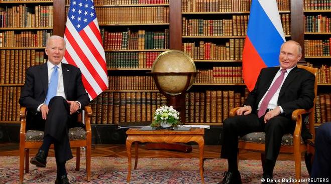 Встреча президентов Байдена и Путина