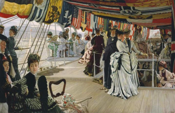 The Ball on Shipboard, James Tisso