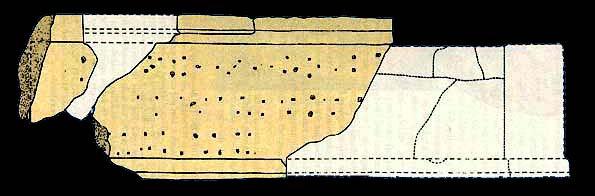 Схема расположения отверстий .