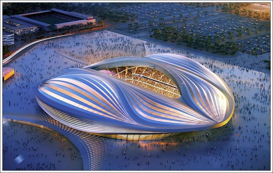 Проект стадиона в Катаре