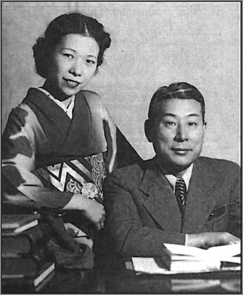 Чиунэ и Юкико Сугихара. 1940 год.