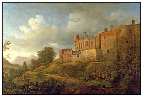 Акварель из картинной галереи замка Поуис