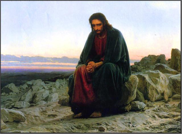 И.Крамской. Христос в пустыне.