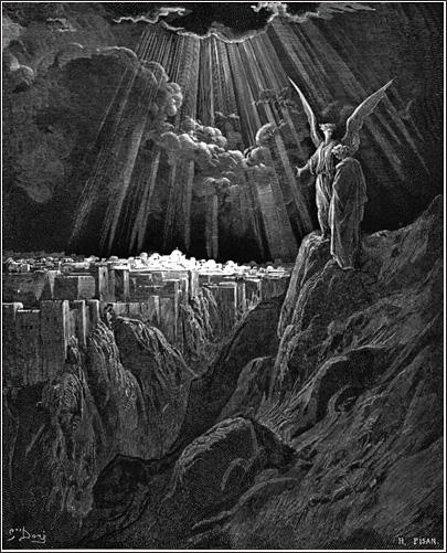 Густав Доре. Небесный Иерусалим.