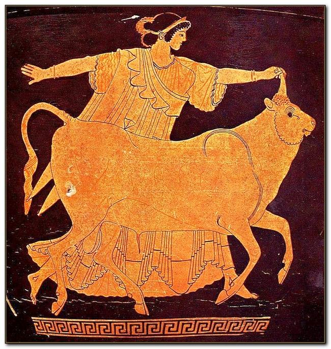 Краснофигурная роспись, IV-V век до н.э.