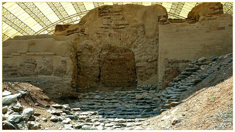 """""""Ханаанские ворота"""",17в до н.э."""