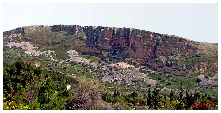 Гора Ахбáра. Вид со стороны Кфар Ахбáра.