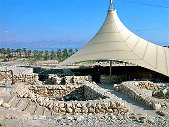 Синагога в Эйн Геди. Раскопки