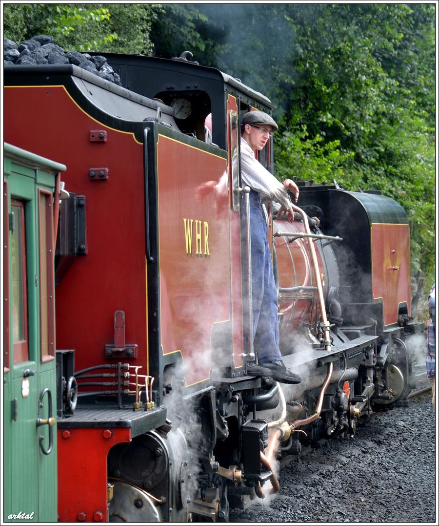 Знаменитый паровоз системы Ферли. Впервые был построен и введен в эксплуатацию в Уэльсе в середине XIX века