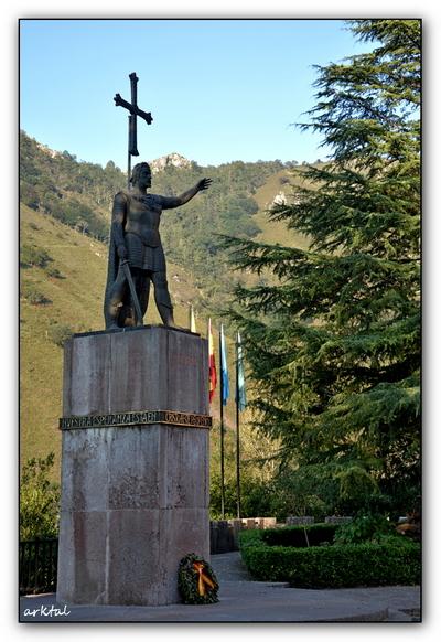 Памятник Пелайо в Ковадонга