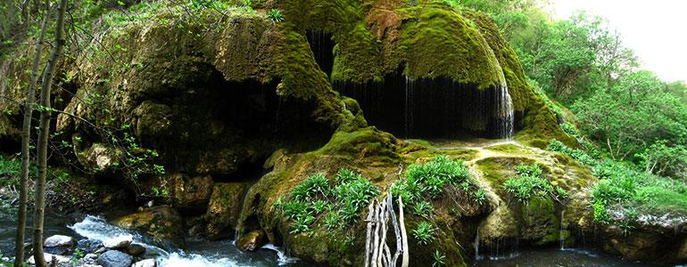 Umbrella waterfall Artsakh