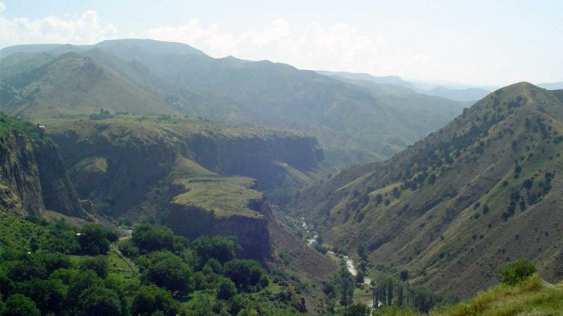 Национальные парки и заповедники Армении