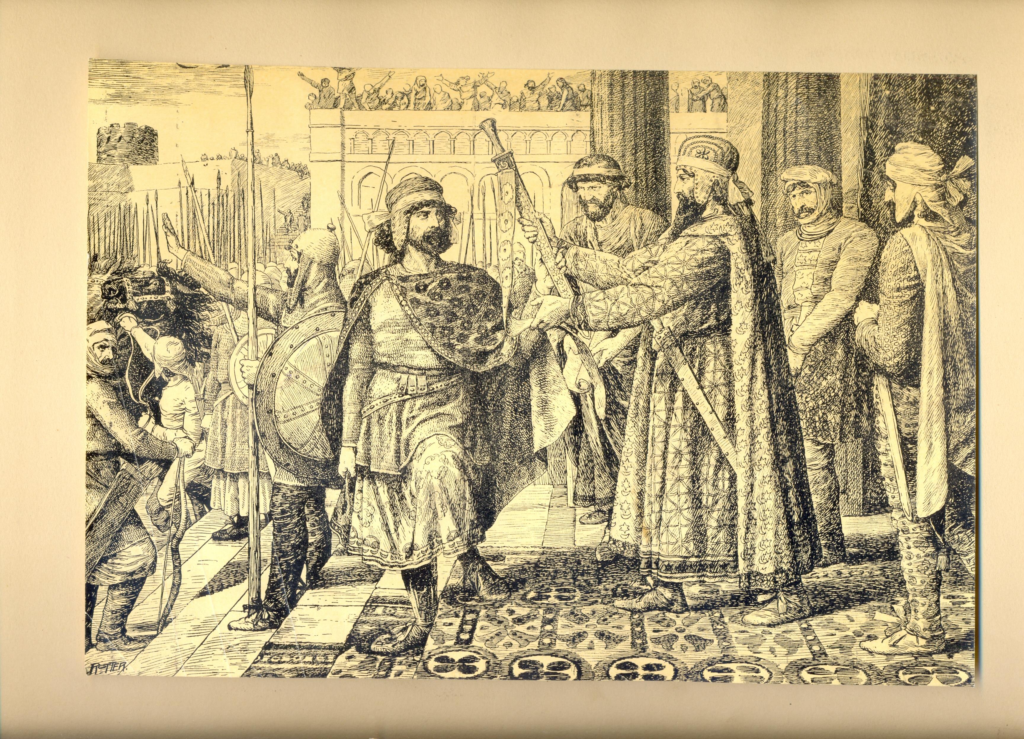 История Армении_Роттер_7_Аршак отправляе Вагаршака в Армению
