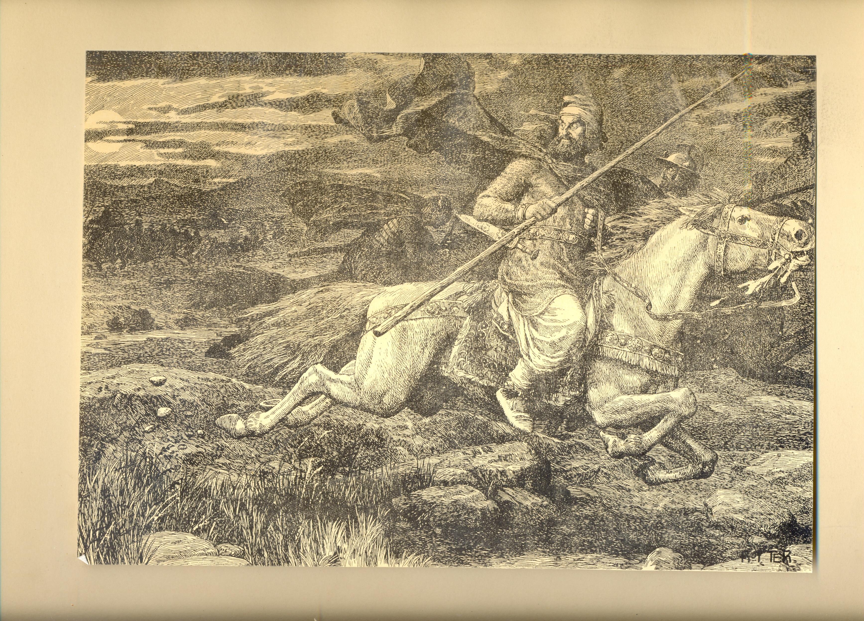 История Армении_Роттер_9_Ерванд убегает с поля боя