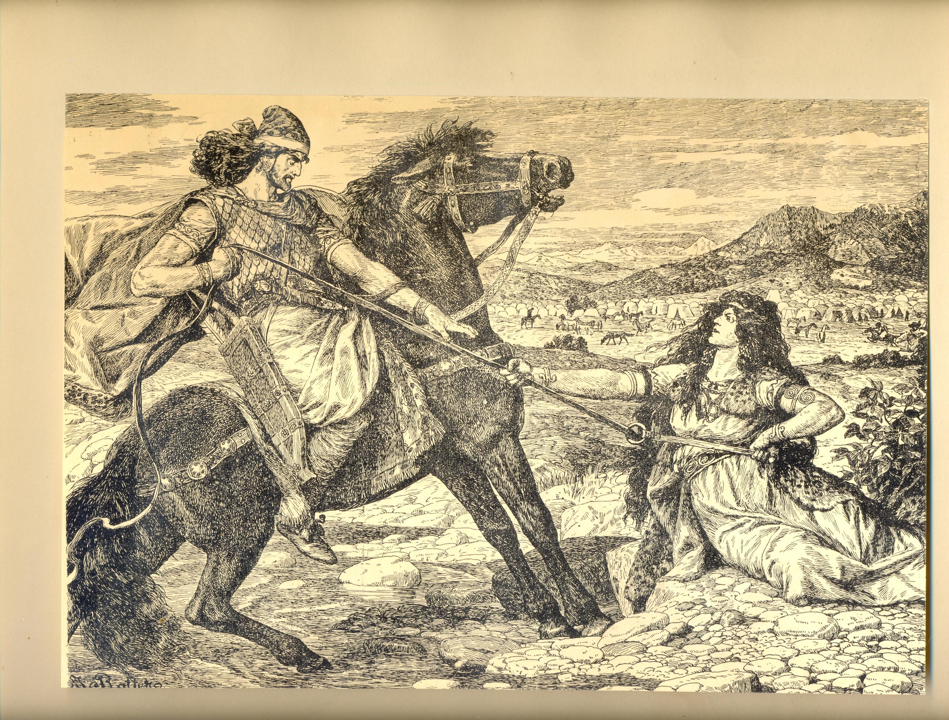 История Армении_Роттер_10_Арташес и Сатеник