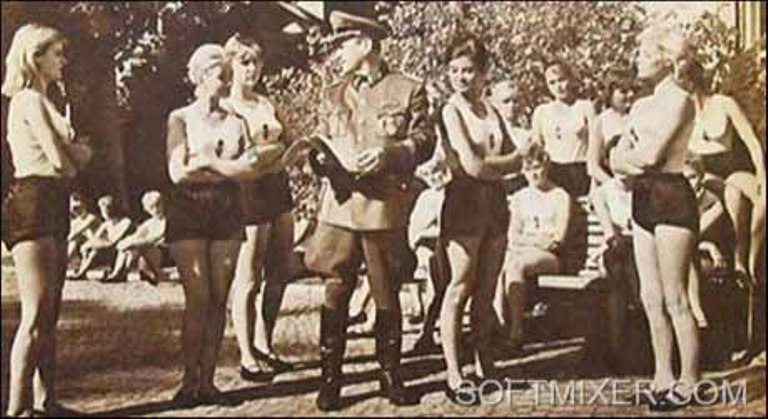 Порно немцы на войне