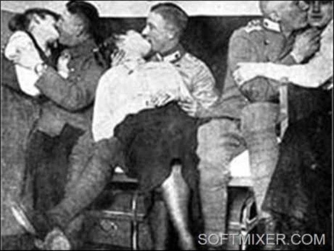 Немецкая порнуха во время войны — 2