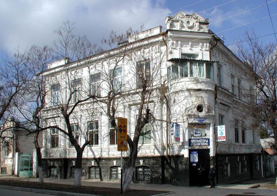 Материальные памятники истории линейного казачества Кубани: дом врача П.Г.Кудрявцева