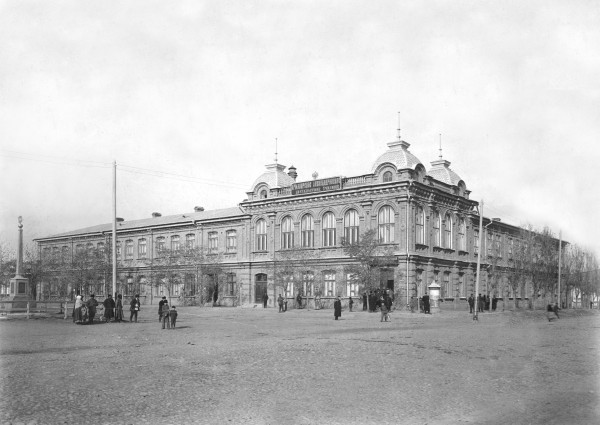 Александровское двухклассное училище. 1900-е гг.