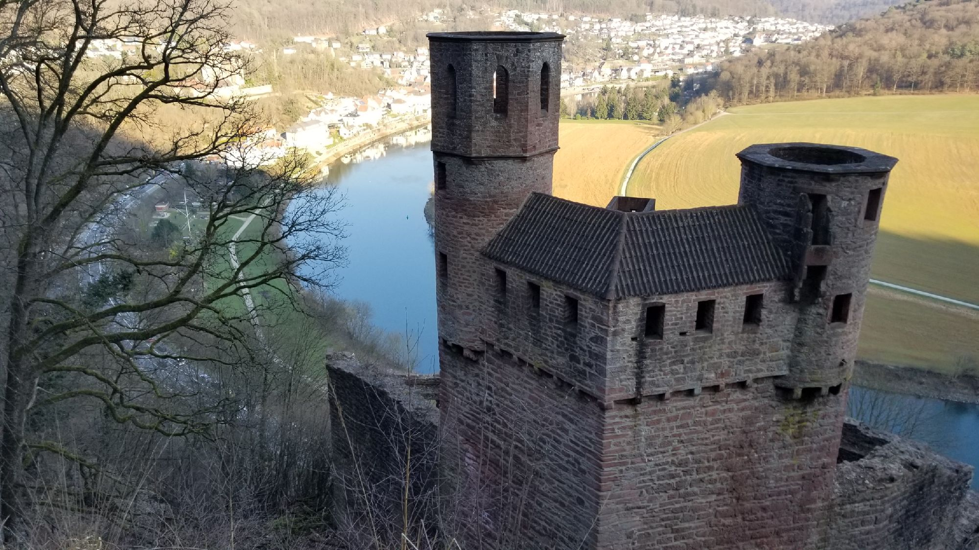 Верхняя крепость.