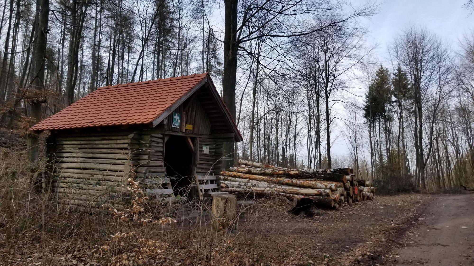 Хютте и дрова