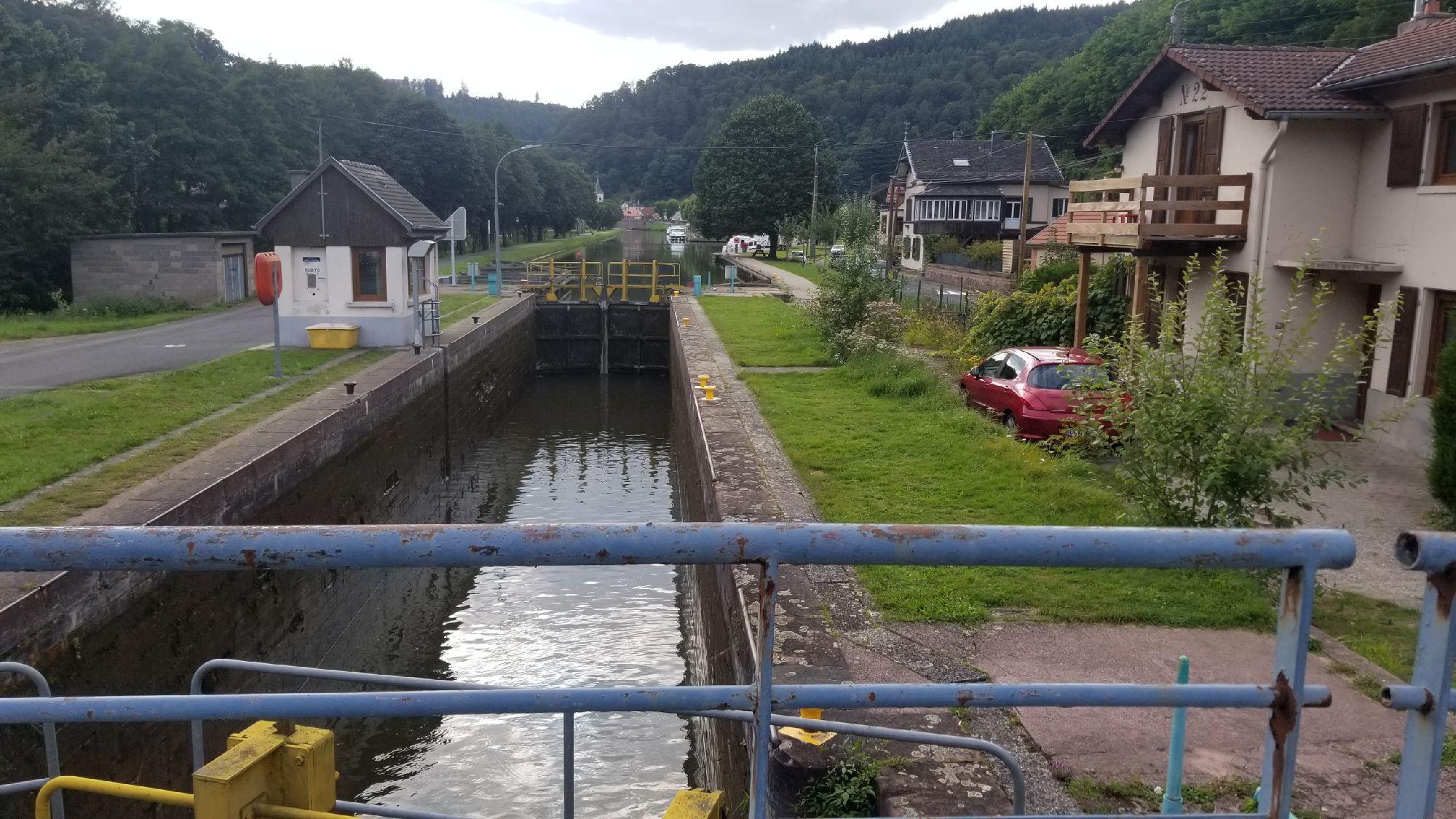 Судоходный канал через Вогезы