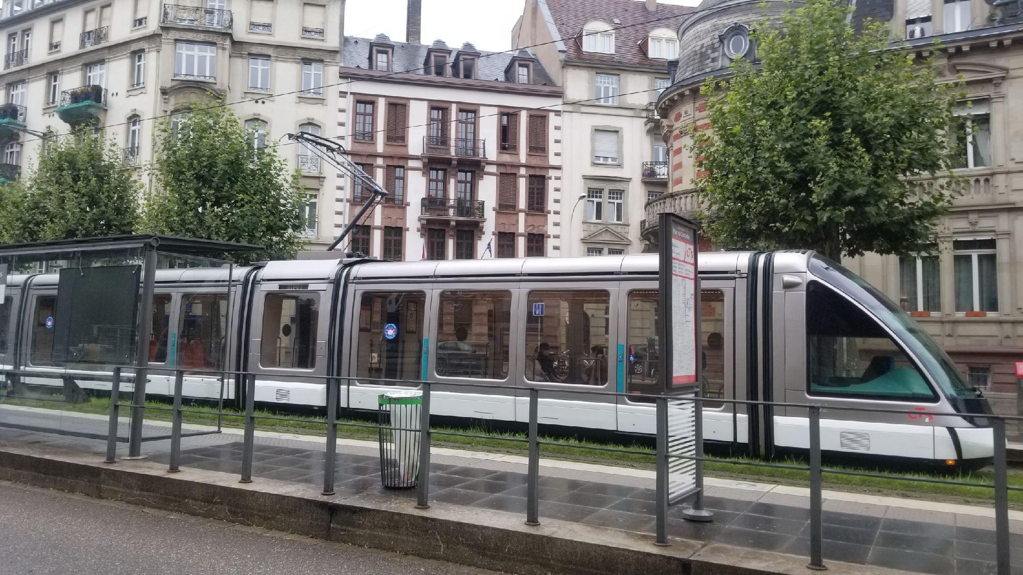 Страсбургские трамваи